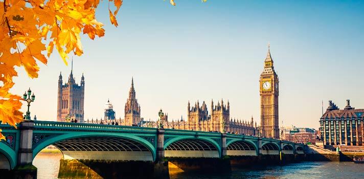 Londres es la mejor ciudad para estudiar en el extranjero.