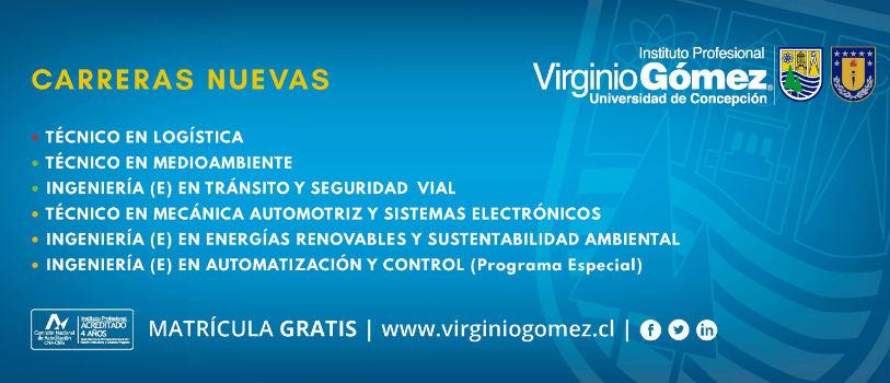 Instituto Profesional Virginio Gómez apuesta por carreras tecnológicas