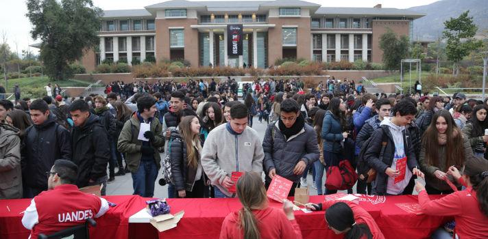 La actividad busca simular la experiencia que vivirán los futuros universitarios los días 26 y 27 de noviembre