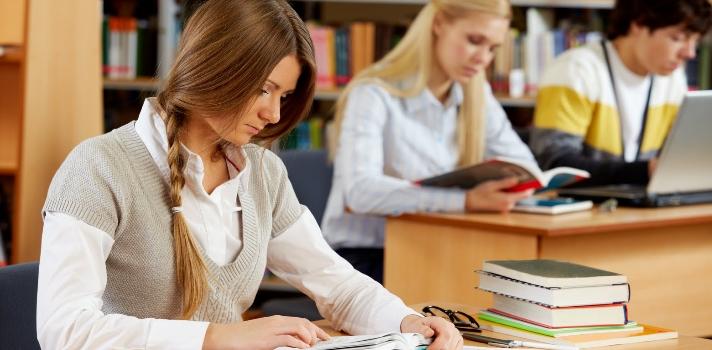 Las bibliotecas digitales ponen al alcance de los alumnos gran cantidad de recursos