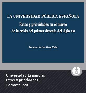 Universidad española: retos y prioridades