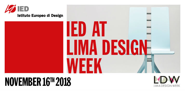 IED participará com uma Master Class sobre design e criatividade no dia 16 de novembro às 19 horas