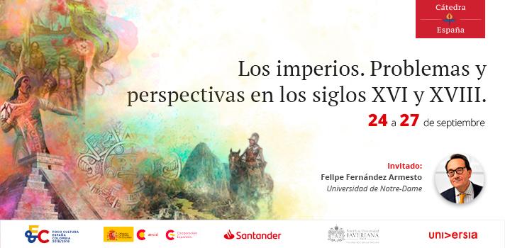 El segundo módulo de la Cátedra España tiene como tema la historia imperialista