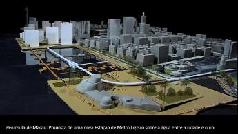UC estuda o impacto do novo Metro Ligeiro de Macau e a política de expansão dos Casinos e da indústria do Jogo