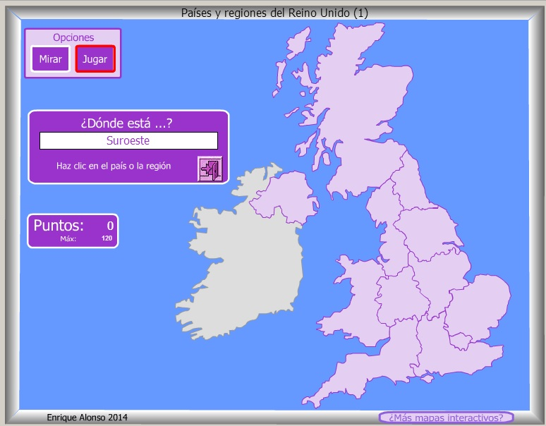Países y Regiones de Reino Unido