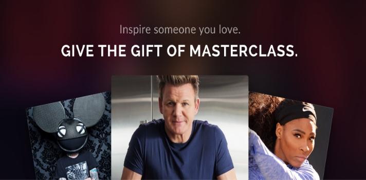 Masterclass la web de cursos online que te permite aprender con famosos.
