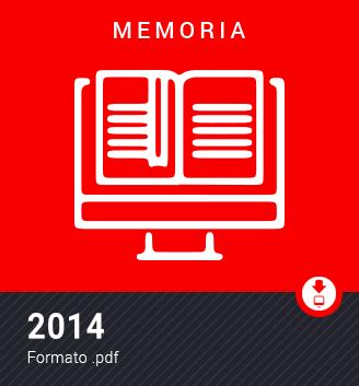 Memoria 2014