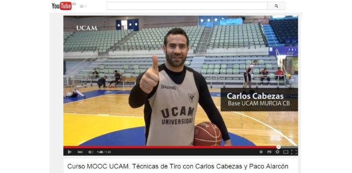 Carlos Cabezas, protagonista de la nueva hornada de cursos MOOC de la UCAM