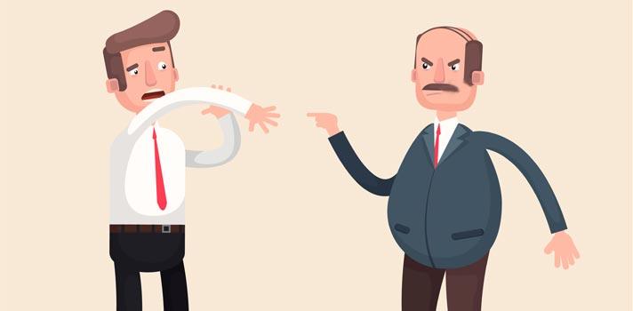 Três frases que você não deve dizer ao seu chefe jamais