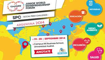 <h4>Llega el JWEF Argentina 2014 con novedades</h4><p style=text-align: justify;>Por cuarto año consecutivo, la <strong><a title=Universidad Austral href=https://estudios.universia.net/argentina/institucion/universidad-austral>Universidad Austral</a></strong>organiza el <strong>Junior World Entrepreneurship Forum Argentina 2014 (JWEF)</strong>. Enfocado en promover el espíritu emprendedor en los jóvenes universitarios de Argentina, en esta nueva oportunidad no solo se desarrollarán ideas en las 5 categorías existentes, sino que se intentará llevarlo a la práctica: se seleccionarán 10 equipos (2 por categoría) para formar parte de un proceso de formación y co-creación junto a profes del IAE y, finalmente, una hackaton que se realizará en la Universidad para desarrollar los prototipos de los proyectos que los participantes propongan.</p><p style=text-align: justify;>Más información, <strong><a title=Más información href=https://eventioz.com.ar/e/jwef-social-print-challenge-argentina-2014 target=_blank>aquí</a></strong>.</p><p style=text-align: justify;></p><p><strong>Lee también</strong><br/><a style=color: #ff0000; text-decoration: none; title=Actividades universitarias que comienzan en este segundo cuatrimestre href=Actividades universitarias que comienzan en este segundo cuatrimestre>» <strong>Actividades universitarias que comienzan en este segundo cuatrimestre</strong></a></p><p style=text-align: justify;></p><h4>Jornada de Emprendedurismo</h4><p style=text-align: justify;>Hoy cierra la Jornada de Emprendedurismo, organizadas por UNCUSA SAPEM, empresa perteneciente al Área de Vinculación de la <strong><a title=Universidad Nacional de Cuyo (UNCUYO) href=https://estudios.universia.net/argentina/institucion/universidad-nacional-cuyo>Universidad Nacional de Cuyo (UNCUYO)</a></strong>, en colaboración con Knowel, una organización sin fines de lucro con sede en Gotemburgo, Suecia.</p><p style=text-align: justify;></p><p style=text-align: justify;>Las actividades están 