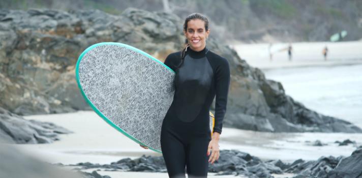 Ona Carbonell, medallista olímpica española en natación sincronizada