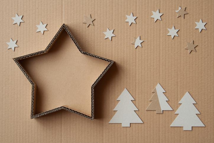Crie um painel de Natal criativo e divertido com os seus alunos.