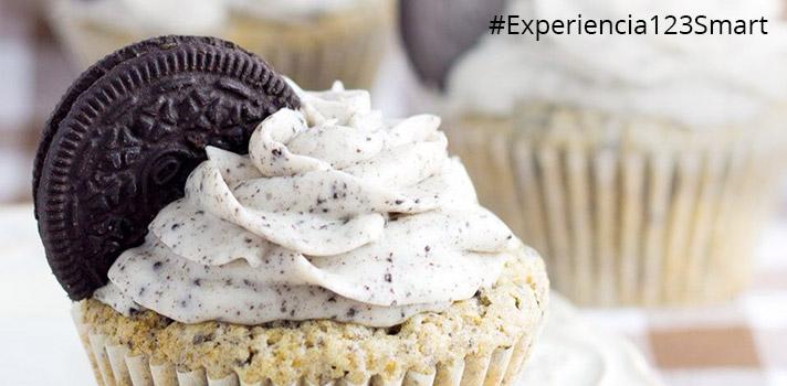 Aprende deliciosas recetas de la repostería americana como la de cupcakes de oreo