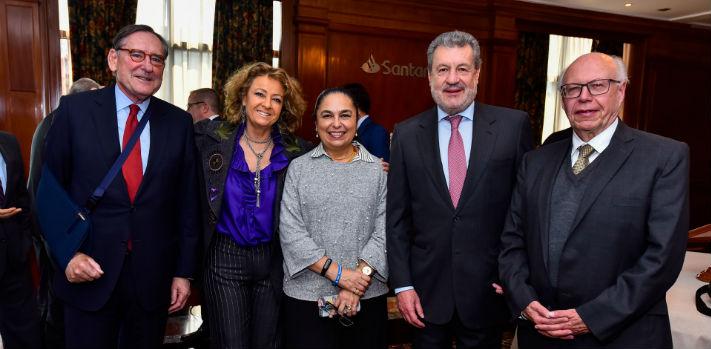 Los rectores asistentes reconocieron el trabajo realizado por Banco Santander a través de Universia