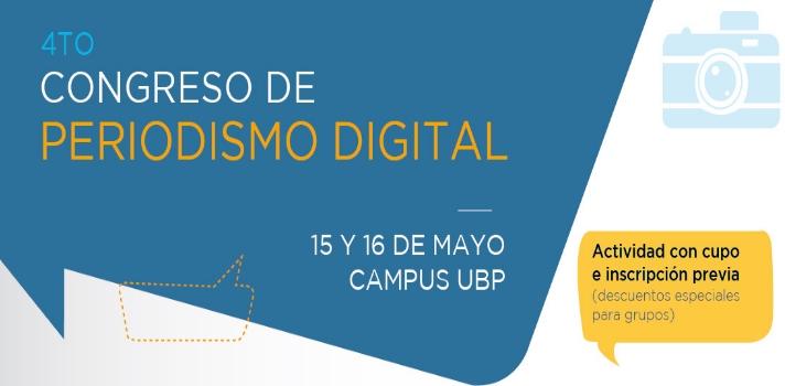 UBP y FOPEA lanzan el 4° Congreso de Periodismo Digital