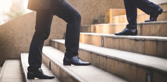O processo de atingir o sucesso envolve ser tolerante aos riscos que se apresentam quando alguém tem novos objetivos