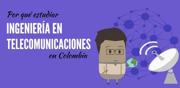 <p>Elegir una carrera universitaria es un proceso complejo donde juegan factores personales como el interés y la facilidad en un determinado campo, pero también la <strong>proyección laboral y la seguridad económica que puede ofrecer una carrera cuando te gradúes</strong>. Para que conozcas cuáles son las <a href=Las 20 carreras universitarias con mayor demanda y mejor pagadas en Colombia title=https://noticias.universia.net.co/educacion/noticia/2015/12/17/1134832/20-carreras-universitarias-mayor-demanda-mejor-pagadas-colombia.html target=_blank>carreras más demandas y mejor pagadas del país</a>, elaboramos una serie de artículos sobre <a href=https://noticias.universia.net.co/tag/por-qu%C3%A9-estudiar/ title=Serie de artículos Por qué estudiar en Colombia target=_blank>por qué estudiar en Colombia</a>ciertas áreas. La <strong>Ingeniería en Telecomunicaciones</strong> es una de ellas y te la presentamos en este informe.</p><blockquote style=text-align: center;>Descubre dónde estudiar un <a href=https://www.universia.net.co/estudios/busqueda-avanzada/key/telecomunicaciones/pg/1 class=enlaces_med_leads_formacion title=Portal de estudios de Universia Colombia target=_blank id=ESTUDIOS> grado o posgrado en Ingeniería en Telecomunicaciones</a> en Colombia</blockquote><p><strong>¿Qué es la Ingeniería de Telecomunicaciones?</strong></p><p>Es una disciplina constituyente de la ingeniería que se encarga de <strong>administrar, crear, diseñar y gestionar sistemas en tecnología de la información y las telecomunicaciones</strong>. Brinda <strong>soluciones técnicas a problemas en la transmisión y recepción de señales</strong> y la interconexión de redes en cualquier empresa u organización.</p><p>El profesional dedicado a la ingeniería de telecomunicaciones posee amplios <strong>conocimientos en matemáticas y física</strong> que le permitirán <strong>optimizar los recursos del ambiente de redes</strong> para el cual trabaja.<br/><br/></p><p><strong>Competencias que adquiere un I
