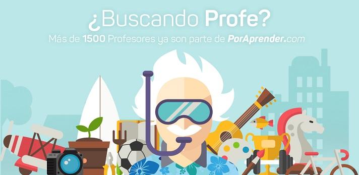 <p><a href=https://www.poraprender.com/ title=PorAprender - sitio oficial target=_blank>PorAprender</a>es una plataformacon firma uruguaya que pretende <strong>fomentar el aprendizaje yel contacto entre estudiantes y docentes</strong>. El objetivo principal es que se establezca una relación más amena entre los agentes educativos, dando lugar a la red de <strong>profesores más importante del país</strong>.</p><p>Tal como informa el portal digital El Observador, el proyecto surge como respuesta a la necesidad de contactar con <strong>profesores particulares de cualquier área</strong>. PorAprender, cuyo lanzamiento fue hace poco más de un mes, se presenta como un lugar de encuentro que acumula ya más de un millar de docentes. Las perspectivas sontan favorables que para final de año se espera alcanzar más de 8.000 inscritos.</p><p><strong>Cómo se califica a los profesores participantes</strong></p><p>El proceso es simple, según informa la misma fuente mencionada, los docentes conseguirán una calificación en función de su actividad en la plataforma. Es importante incluir material multimedia como fotografías y videos, facilitar ejercicios, <strong>ofrecer cursos</strong> y tener amplitud de horarios. De igual manera, habrá que validar la cuenta de Facebook y demostrar implicación con el proyecto respondiendo rápidamente a las preguntas de los usuarios.</p><p><strong>Cómo se establece el contacto</strong></p><p>Lo mejor de la plataforma es que cada <strong>alumno puede disponer del profesor que más le gusta</strong>. La forma de contactar con ellos es a través del chat, donde habrá que mostrar al docente el interés por participar en alguno de los cursos que imparta. Después solo queda esperar la contestación del profesor, quien marcará el devenir de las clases.</p><p></p>