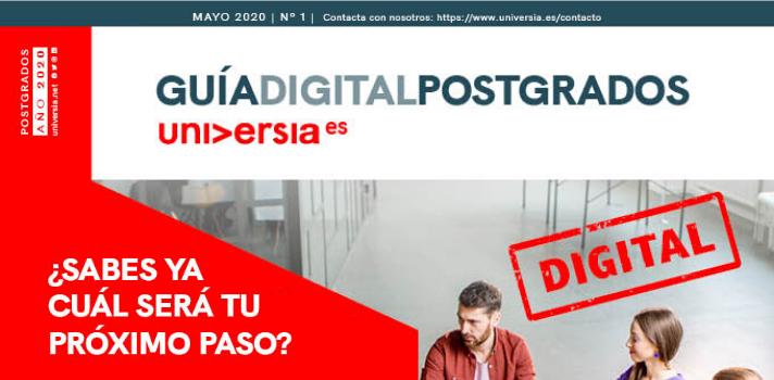 Guía Digital de Postgrados ¿sabes ya cuál será tu próximo paso?