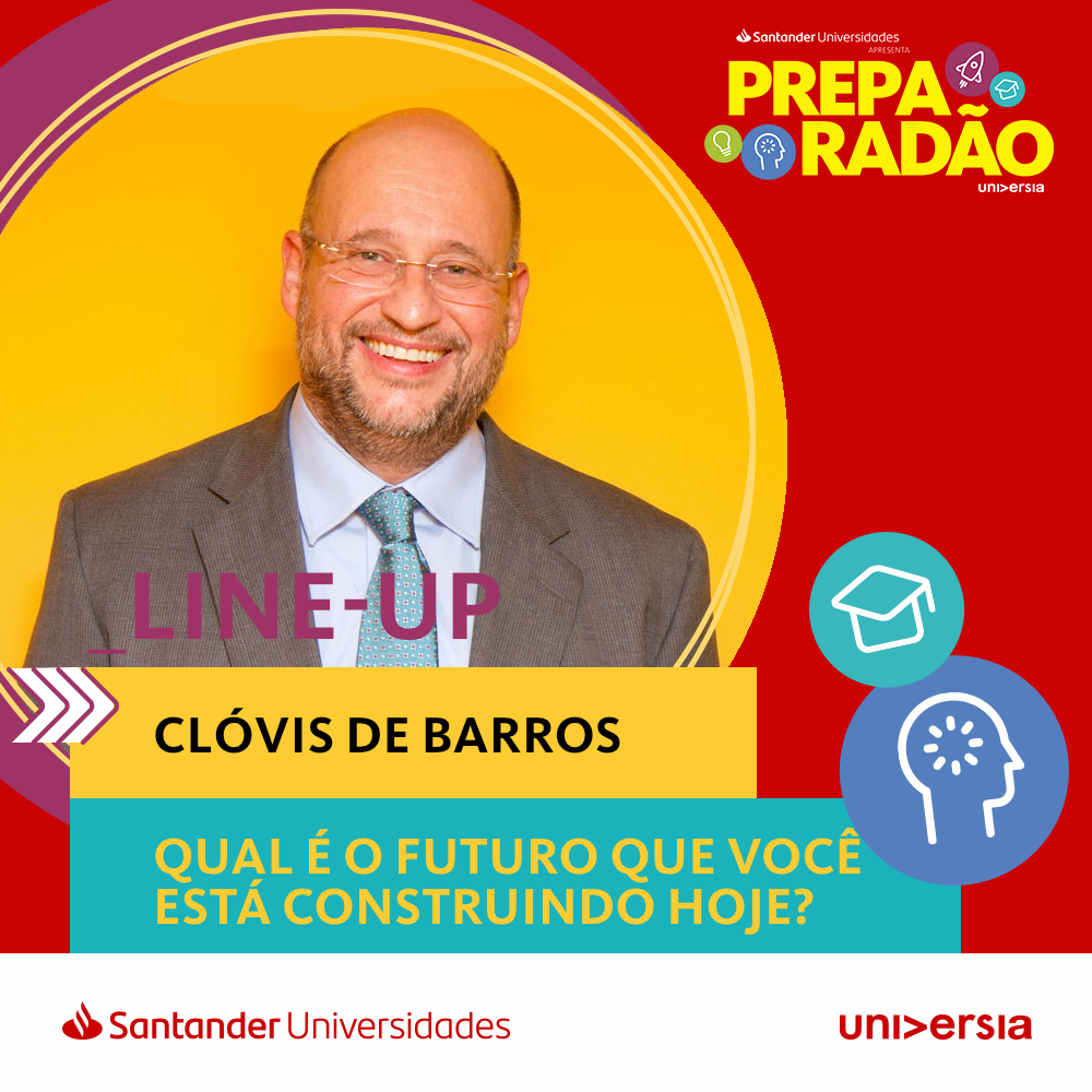 Clóvis de Barros: o professor de ética mais famoso do Brasil no Preparadão Universia
