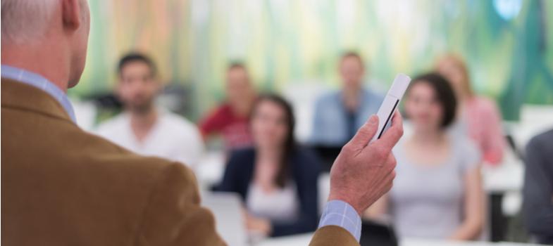 O controlo de presenças é importante para o bom funcionamento da dinâmica da sala de aula