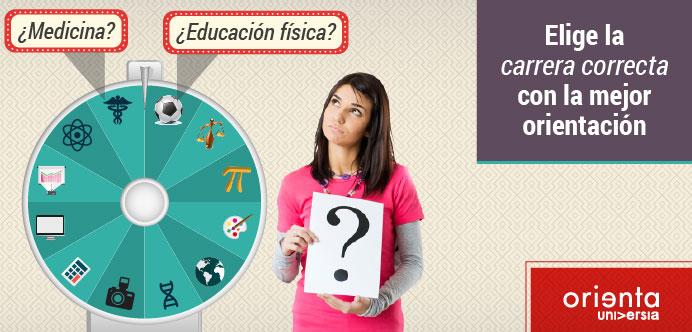 Si aún no sabes qué estudiar, o no estás seguro de qué carrera elegir, te invitamos a que realices el test gratuito de orientación vocacional.