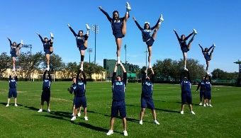 UPR de Bayamón campeona en el 2015 College Cheerleading & Dance Team National Championship