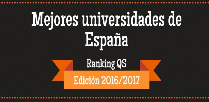 Las mejores universidades españolas según el Ranking QS.