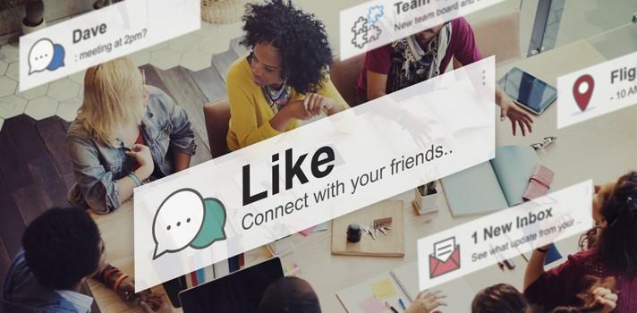 Como espacio de comunicación e intercambio con otros usuarios, las redes fomentan el surgimiento de comunidades