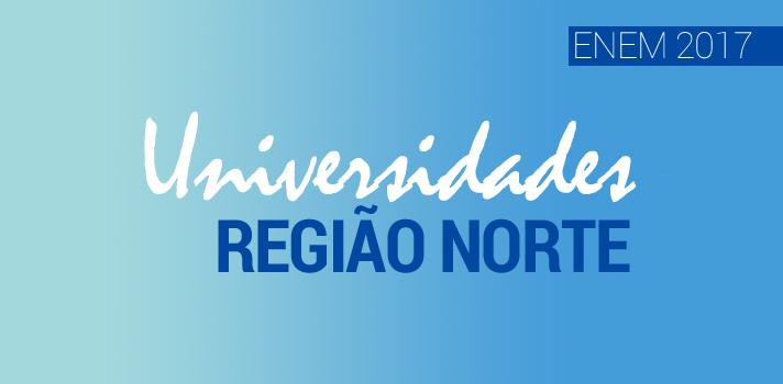 Universidades na região norte que aceitam o Enem