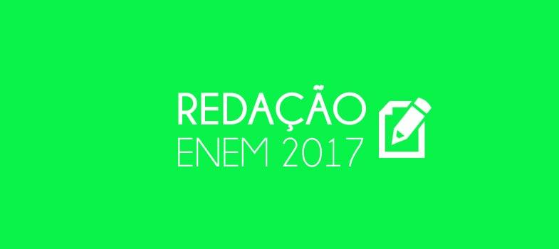 RESUMÃO REDAÇÃO ENEM 2017: estude com editorial de jornal