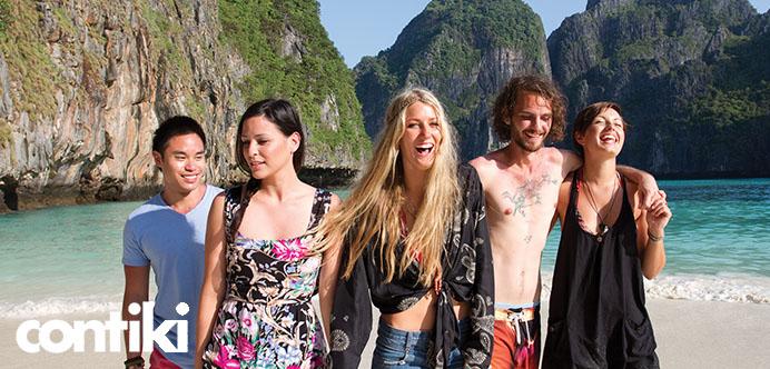 Contiki oferece roteiros de viagem customizados para cada tipo de viajante