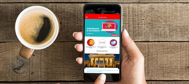 Santander Universidades lança aplicativo para universitários