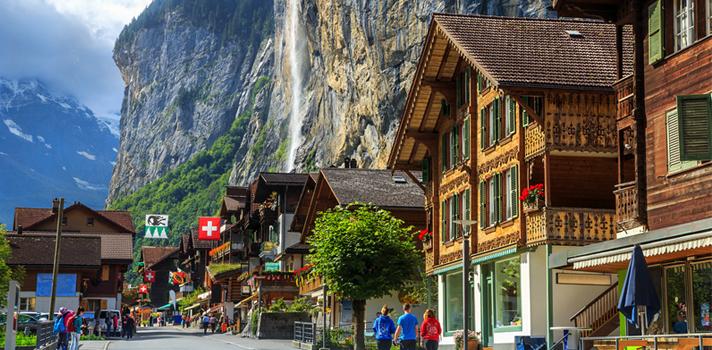 Concorra a uma viagem na Suíça com RS$ 35 mil