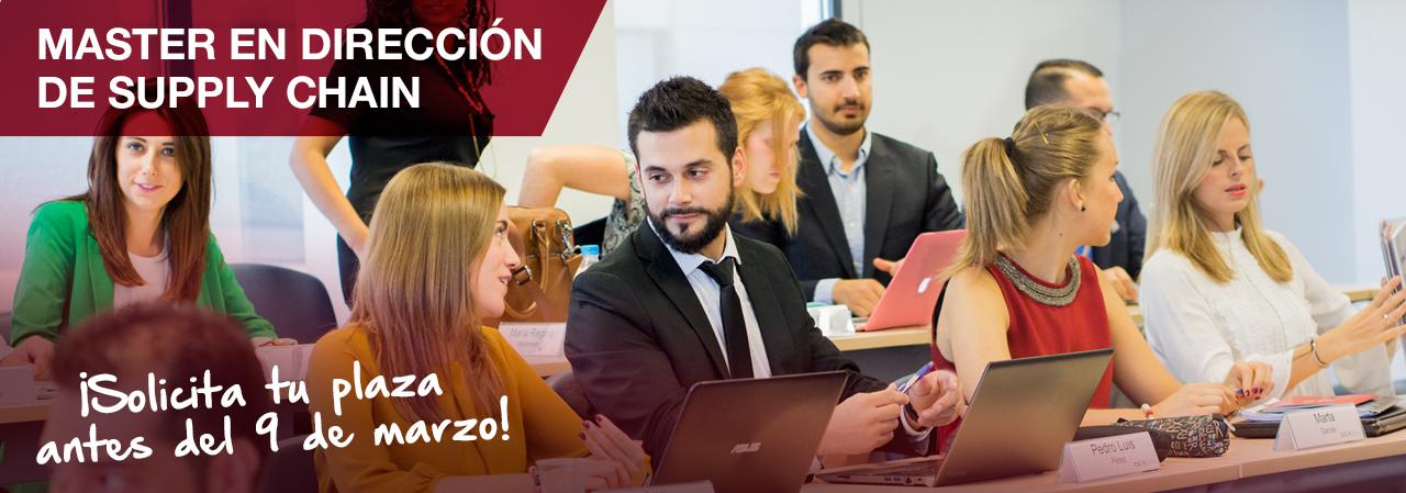 Becas para estudiar un Máster en la mejor Universidad de Logística y Supply Chain de España.