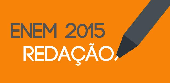 """<p>Após o fechamento dos portões dos locais de prova pelo Brasil, o <a title=Ministério da Educação (MEC) href=https://portal.mec.gov.br target=_blank>Ministério da Educação (MEC)</a>divulgou na tarde deste domingo (25) o <a title=Tudo sobre a redação do Enem 2015 href=https://noticias.universia.com.br/tag/redação-enem-2015>tema da prova de redação do Enem 2015</a>. A proposta foi: """"A persistência da violência contra a mulher na sociedade brasileira"""".<br/><br/></p><p><span style=color: #333333;><strong>Veja também:</strong></span><br/><a style=color: #ff0000; text-decoration: none; text-weight: bold; title=Tudo sobre a cobertura do Enem 2015 href=https://noticias.universia.com.br/tag/cobertura-enem-2015/>» <strong>Tudo sobre a cobertura do Enem 2015</strong></a><br/><a style=color: #ff0000; text-decoration: none; text-weight: bold; title=Enem 2015: veja os gabaritos do primeiro dia de provas href=https://noticias.universia.com.br/destaque/noticia/2015/10/24/1132827/enem-2015-veja-gabaritos-primeiro-dia-provas.html>» <strong>Enem 2015: veja os gabaritos do primeiro dia de provas</strong></a><br/><a style=color: #ff0000; text-decoration: none; text-weight: bold; title=Confira a correção comentada das provas do Enem 2015 href=https://noticias.universia.com.br/destaque/noticia/2015/10/25/1132831/confira-correcao-comentada-provas-enem-2015.html>» <strong>Confira a correção comentada das provas do Enem 2015</strong></a></p><p><br/>Neste domingo (25), além da redação, os candidatos enfrentam as <strong>provas de Linguagens, Códigos e suas Tecnologias, de Matemática e suas Tecnologias</strong>. As questões objetivas deste dia avaliarão os alunos em matemática, língua portuguesa, literatura, língua estrangeira (inglês ou espanhol), artes, educação física, tecnologias da informação e comunicação. A duração das provas será mais longa, com 5 horas e 30 minutos.<br/><br/></p><p><strong>A nota final da redação do Enem 2015 varia entre zero (0) a mil (1.000) e será atribuída da se"""