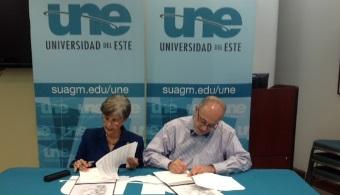 Universidad del Este y PRIMEX firman acuerdo colaborativo