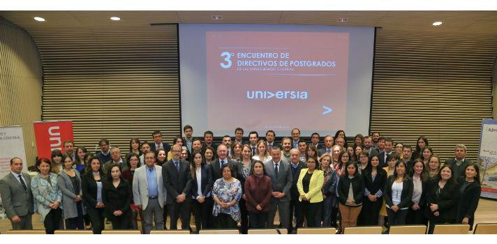 Universia organizó III Encuentro de Directivos de Postgrados