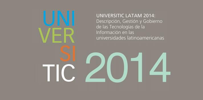 """<p>La<a title=Universidad de Alicante href=https://www.universia.es/universidades/universitat-d-alacant/in/10001 target=_blank>Universidad de Alicante</a> invita a todas las instituciones a que durante los meses de julio y agosto participen enviando sus datos para formar parte de la edición 2015.</p><p>El Informe titulado <strong>UNIVERSITIC LATAM 2014: Descripción, Gestión y Gobierno de las Tecnologías de la Información en las universidades latinoamericanas""""</strong>, se trata de la segunda edición de un informe que no se limita a llevar a cabo un inventario de las TI presentes en los campus, sino que analiza la situación global de las TI estableciendo una descripción integral de las mismas a partir de un catálogo que contiene tres tipos de indicadores: descripción, gestión y gobierno de las TI. Puedes acceder al <a href=https://rua.ua.es/dspace/bitstream/10045/47925/1/UNIVERSITIC%20LATAM%202014.pdf>Informe UNIVERSITIC LATAM 2014: descripción, gestión y gobierno de las TI en las universidades latinoamericanas haciendo clic aquí</a>.</p><p>El objetivo principal del informe es ofrecer a los equipos de gobierno de las universidades una información precisa, que, desde el punto de vista estratégico, les ayude en la toma de decisiones relacionadas con los nuevos proyectos y servicios universitarios basados en TI.</p><p><strong>Invitación a participar de UNIVERSITIC LATAM 2015</strong></p><p>Por otro lado, desde la Universidad de Alicante se invita a todas las universidades latinoamericanas interesadas en participar del informe UNIVERSITIC LATAM 2015, a que durante los meses julio y agosto envíen sus datos <strong><a title=Envía los datos para participar del informe UNIVERSITIC LATAM 2015 href=https://kti.um.es/kti/login target=_blank>a través de la plataforma kTI</a></strong>y que formen parte del informe 2015.</p>"""