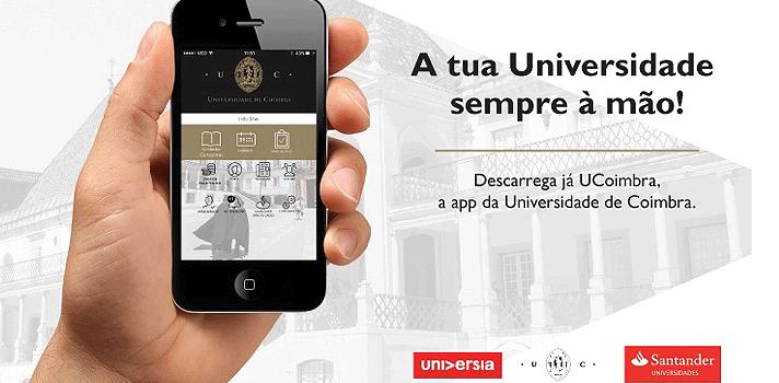 Universidade de Coimbra lança aplicação móvel