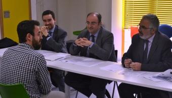 La UPCT seleccionó a tres becarios para estudiar en la Cátedra Hidrogea-UPCT