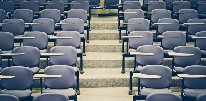 Las aulas actuales se diferencian notoriamente de las de hace algunos años
