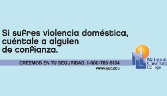Estudiantes de National University College participarán en esfuerzo para prevenir la violencia de género