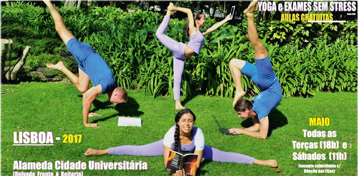 Yoga e Exames Sem Stress regressa às universidades portuguesas