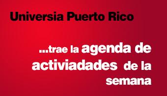 <p style=text-align: justify;>Entérate acerca de cuáles son las actividades que las universidades ofrecen para esta semana que va desde el 12 al 26 de mayo.</p><p style=text-align: justify;></p><p style=text-align: justify;><strong>National University College, Recinto de Arecibo</strong></p><p style=text-align: justify;></p><p style=text-align: justify;><strong>Martes, 13 de mayo</strong></p><p style=text-align: justify;><em>Inicio de proyecto piloto ENACTUS: Centro Tecnológico para jóvenes con Síndrome Down</em></p><p style=text-align: justify;>Apertura en Puerto Rico del primer centro de Desarrollo Tecnológico para personas con Síndrome Down en el que se capacitarán a jóvenes para desempeñarse en posiciones generales de oficina.</p><p style=text-align: justify;><strong>Fecha: </strong> martes, 13 de mayo</p><p style=text-align: justify;><strong>Lugar: </strong> Instalaciones del recinto</p><p style=text-align: justify;></p><p style=text-align: justify;><em>Firma de Alianza entre Agencia Estatal para el Manejo de Emergencias y National University College de Arecibo</em></p><p style=text-align: justify;></p><p style=text-align: justify;>A través de este acuerdo de colaboración entre AEMEAD y NUC se producirán actividades educativas abiertas a toda la comunidad para capacitarlos ante una emergencia y/o desastres.</p><p style=text-align: justify;></p><p style=text-align: justify;><strong>Fecha: </strong>Viernes 16 de mayo a las 10:00 a.m.</p><p style=text-align: justify;><strong>Lugar: </strong>Salón de conferencias</p><p style=text-align: justify;></p><p style=text-align: justify;></p><p style=text-align: justify;><strong>National University College, Recinto de Bayamon</strong></p><p style=text-align: justify;></p><p style=text-align: justify;>EXPO SEGURIDAD Y EMERGENCIAS: ¿Cómo actuarías ante una emergencia?</p><p style=text-align: justify;></p><p style=text-align: justify;><strong>Charlas: </strong></p><p style=text-align: justify;>Cómo preparar una mochila de emer