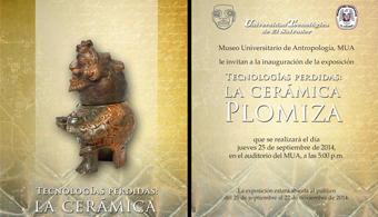 <p style=text-align: justify;>La <strong><a title=Universidad Tecnológica de El Salvador href=https://estudios.universia.net/elsalvador/institucion/universidad-tecnologica-el-salvador target=_blank>Universidad Tecnológica de El Salvador</a></strong>(UTEC) invita a participar de la exposición <strong>Tecnologías perdidas: La Cerámica Plomiza</strong> es una muestra temporal exhibición de temática<strong> arqueológica</strong> que presenta de forma didáctica el <strong>origen, composición y distribución comercial</strong> de esta singular cerámica producida a principios del posclásico temprano, siglo IX d.C. (900-1200). La exposición cuenta con una interesante muestra de material cerámico arqueológico.</p><p style=text-align: justify;></p><p><a style=color: #ff0000; text-decoration: none; title=Sigue toda la actualidad universitaria a través de nuestra página de Facebook href=https://www.facebook.com/pages/Universia-El-Salvador/452458478107950>» <strong>Sigue toda la actualidad universitaria a través de nuestra página de Facebook</strong></a></p><p><br/><a style=color: #ff0000; text-decoration: none; title=Visita nuestro portal de Becas y descubre las convocatorias vigentes href=https://becas.universia.com.sv/SV/index.jsp>» <strong>Visita nuestro portal de Becas y descubre las convocatorias vigentes</strong></a></p><p style=text-align: justify;></p><p style=text-align: justify;><br/>La<strong> exposición es gratuita</strong> y estará abierta al público a partir de este <strong>25 de septiembre de 2014</strong> en horarios de<strong> martes a viernes</strong>, de 8:30 a 11:30 y de 15:00 a 17:30 horas, mientras que los sábados funcionará de 8:30 a 11:30 horas. La exposición se desarrollará en el<strong>Museo Universitario de Antropología</strong>, MUA, ubicado en la calle Arce y 17 Avenida Norte, San Salvador.</p><p style=text-align: justify;></p>