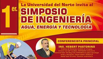 Participa del 1° Simposio de Ingeniería que desarrolla UNINORTE