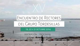 XV Encuentro de Rectores del Grupo Tordesillas