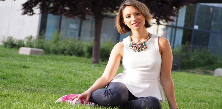 Carolina Lozano, ganadora del concurso.