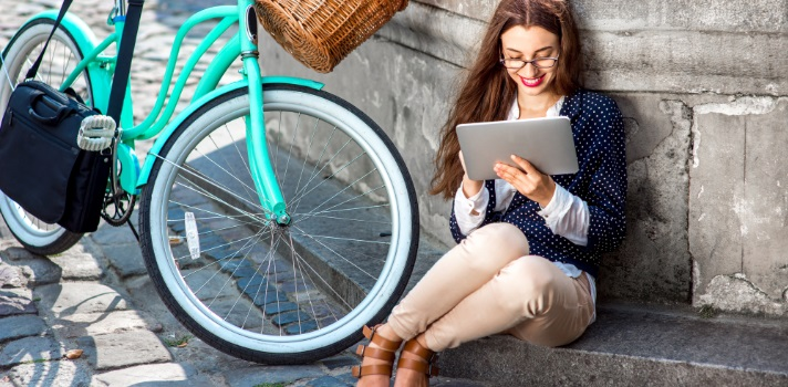 La bicicleta es más amigable con el ambiente y con tu salud